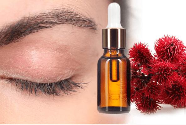Касторовое и репейное масла для восстановления и роста ресниц